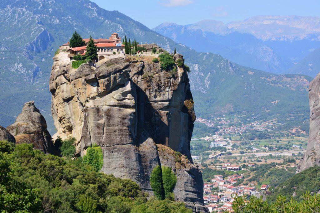 meteora james bond monastery