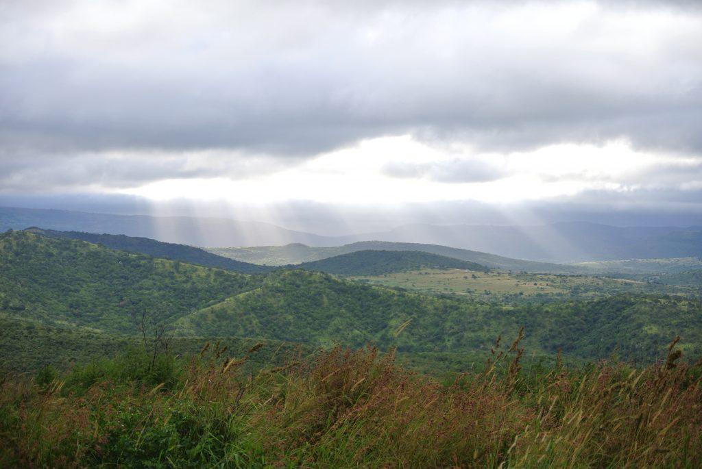 landscape hluhluwe