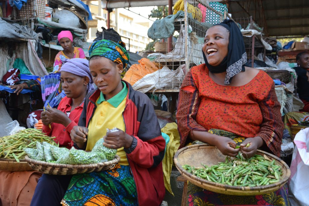 woman at Arusha market