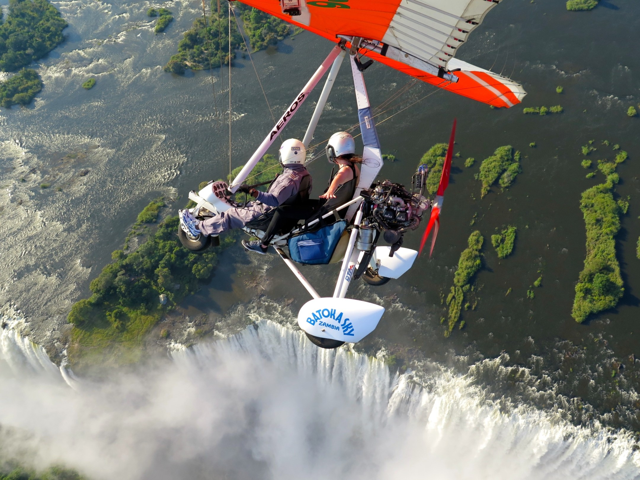 microlight victoria falls bucket list