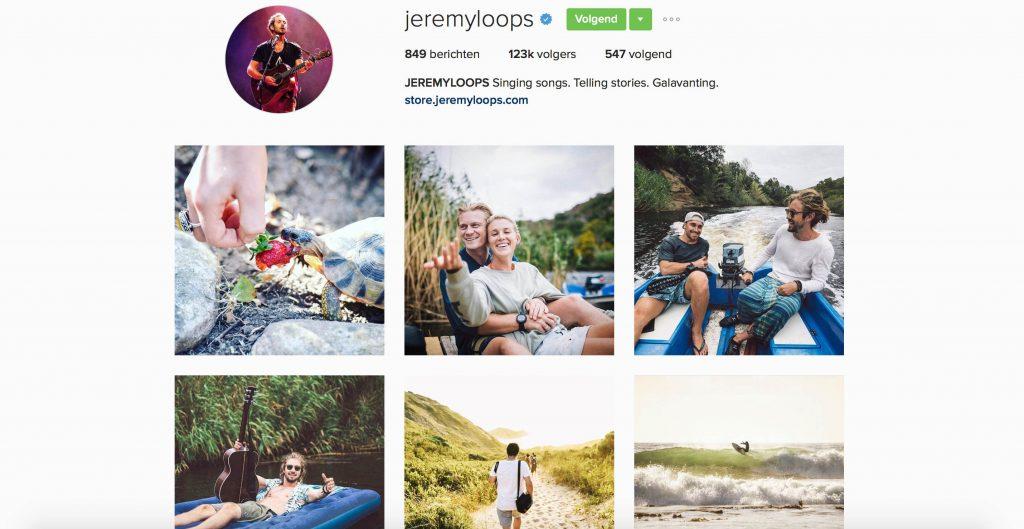 instagram jeremyloops