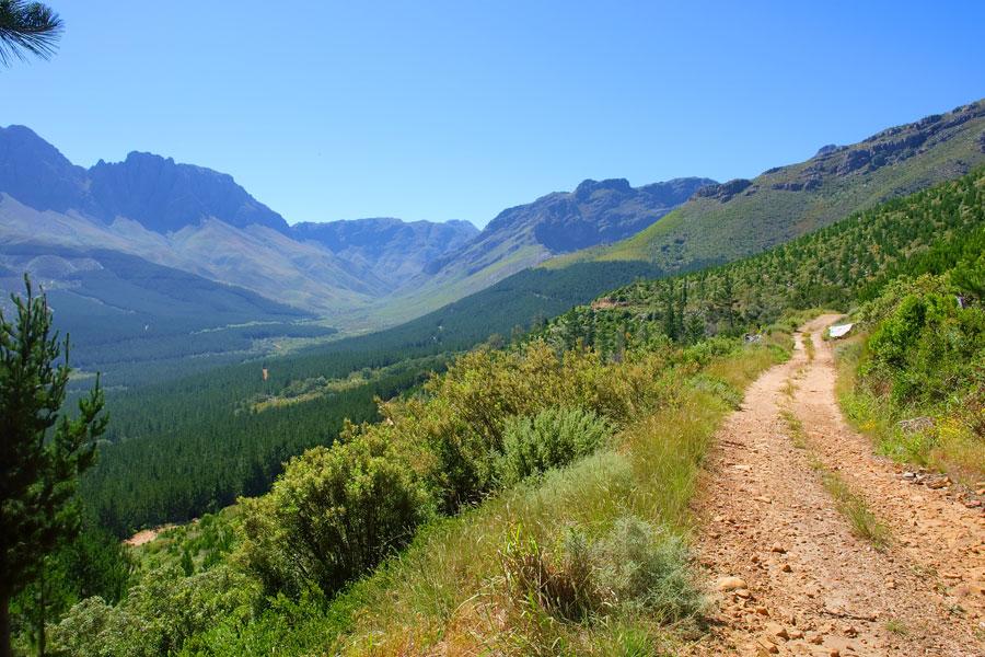 jonkershoek nature reserve hike