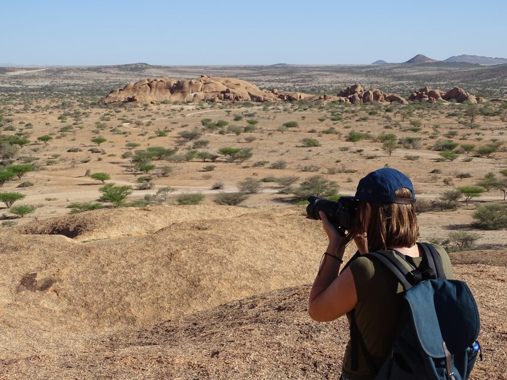 me photographing in spitzkoppe